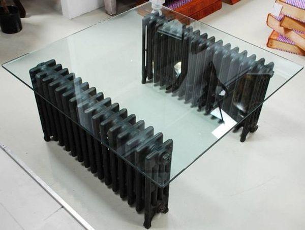 Radiator coffee table
