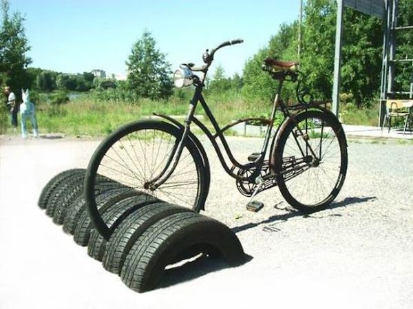 Tire Cycle Stand