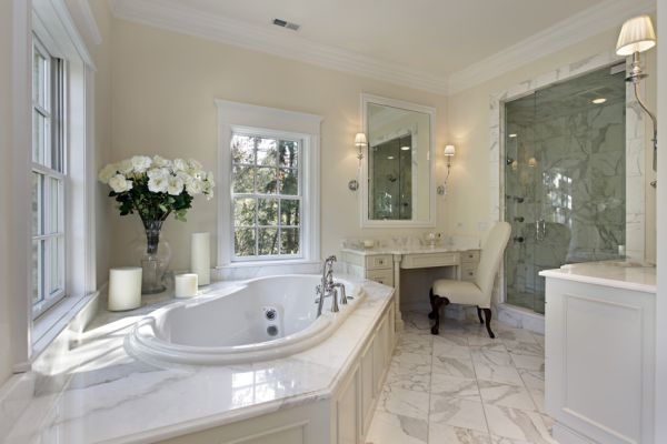 colonial style bathrooms (2)