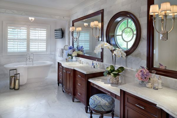 colonial style bathrooms (4)