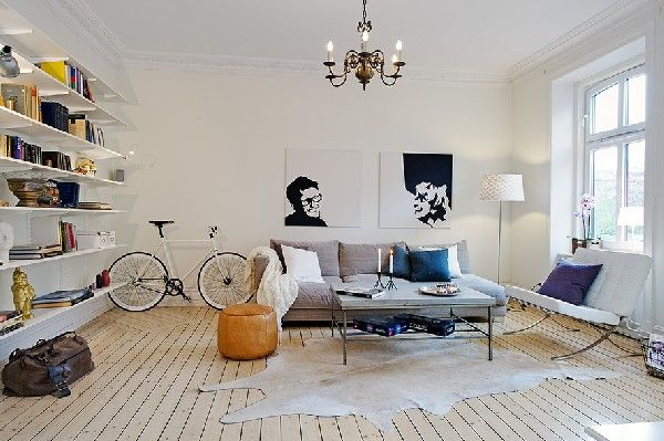 mixing modern and traditional décor (4)
