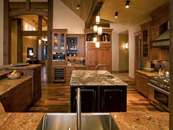 rustic country style kitchen (4)