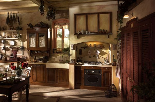 rustic country style kitchen (5)