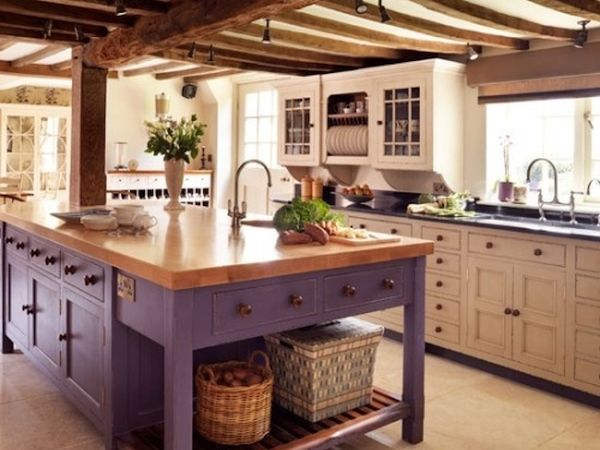 rustic country style kitchen (6)