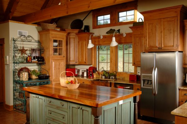 rustic country style kitchen (7)