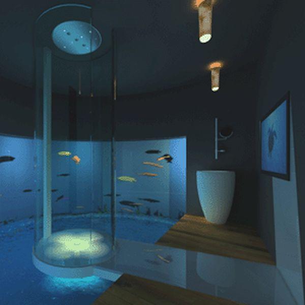 Aquarium shower