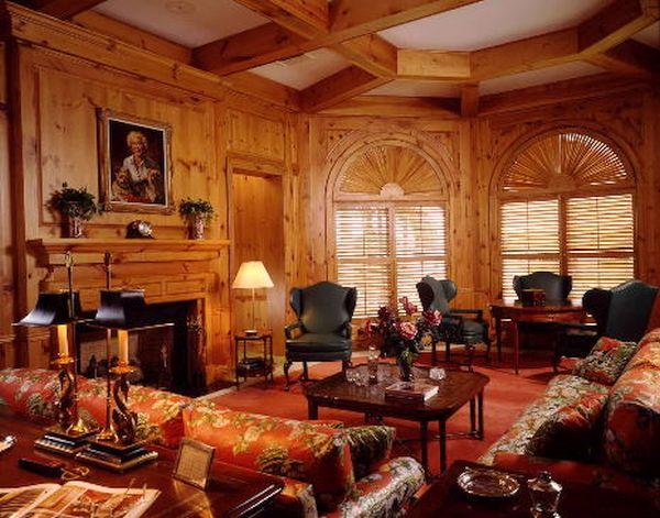 Knotty Pine Paneling decor (5)