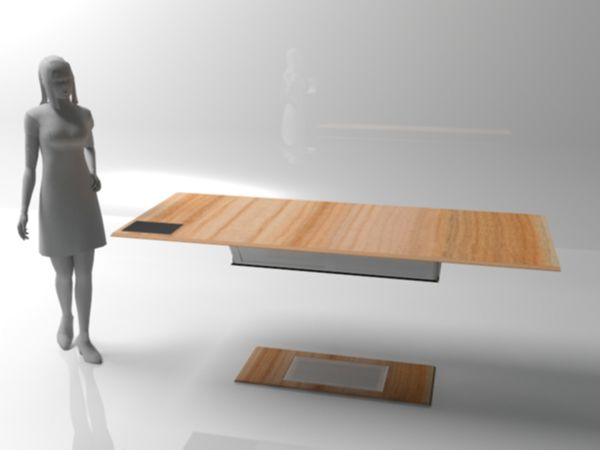 Levitating table