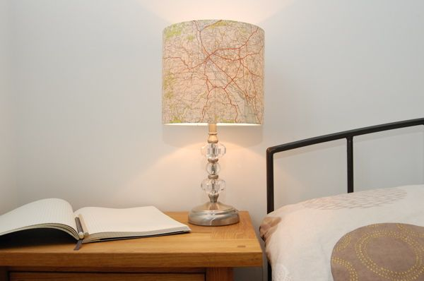 Map Lampshades