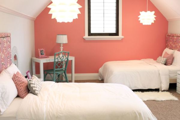 Reef colour walls in home