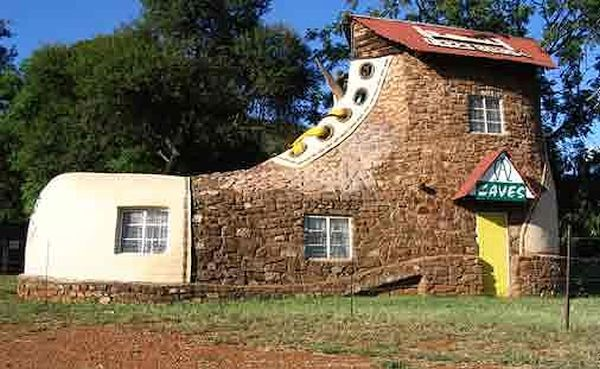 Shoe house, South Africa