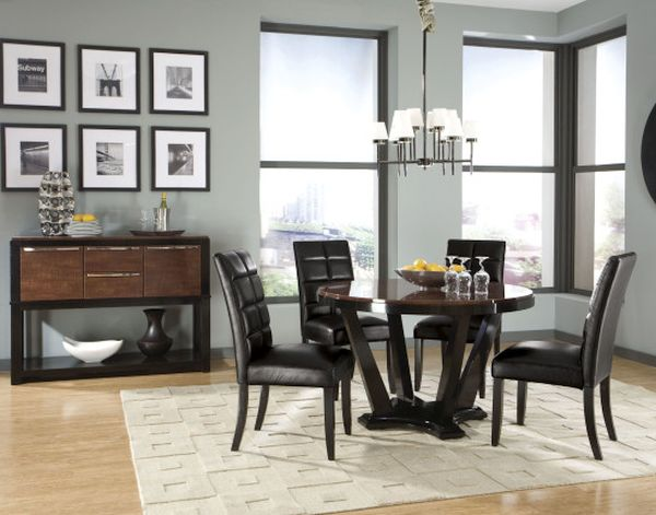 Skillfully incorporating black furniture (2)