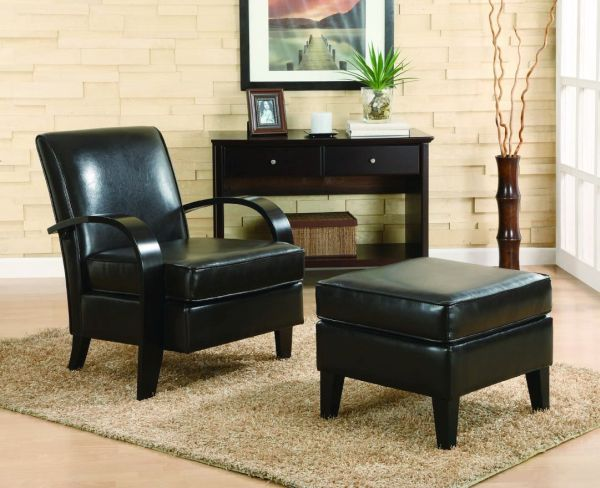 Skillfully incorporating black furniture (3)