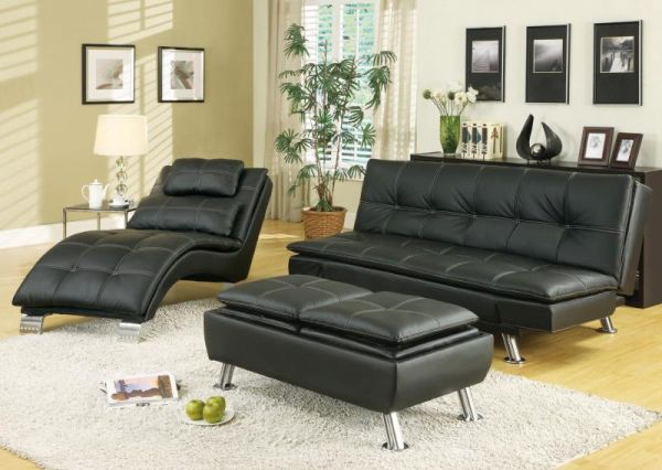 Skillfully incorporating black furniture (7)