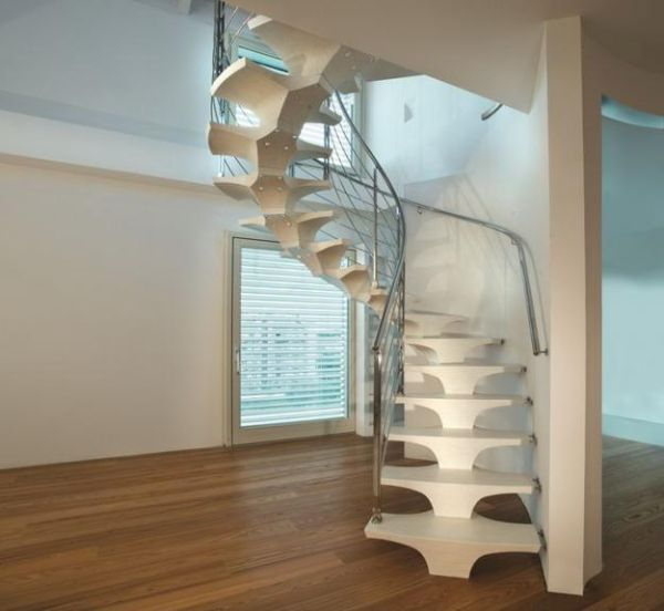The Concorde staircase