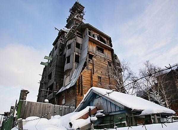 Wooden skyscraper, Russia