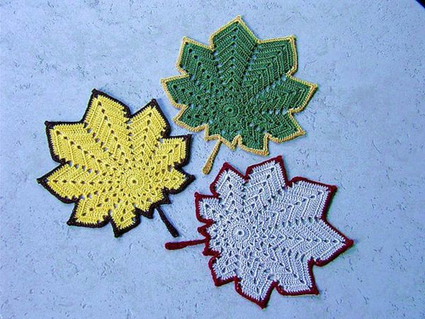 Autumn Leaf Coasters