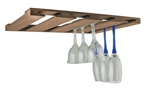 Ceiling mounted rack