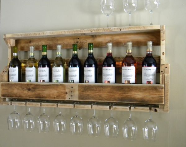 7 Creative Ways To Make Wine Glass Racks A Part Of Your Home Décor
