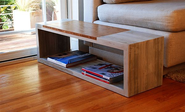 Jeremy Kaplan Design Concrete Coffee Tables