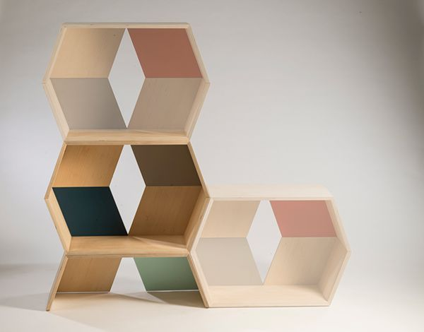 Stack modular shelving system 1