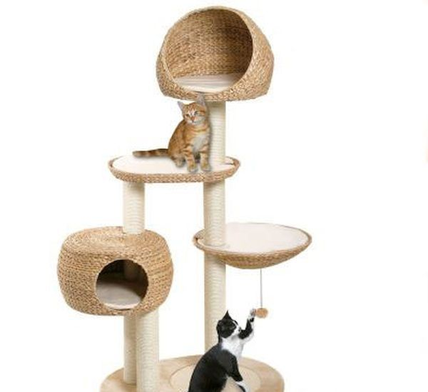 The Paradise Banana Leaf Cat Tree