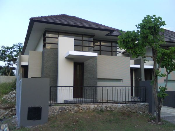 exterior walls gray colour