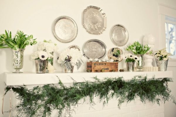 winter home décor with plants (2)
