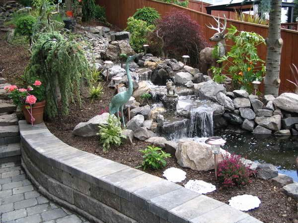 A water feature