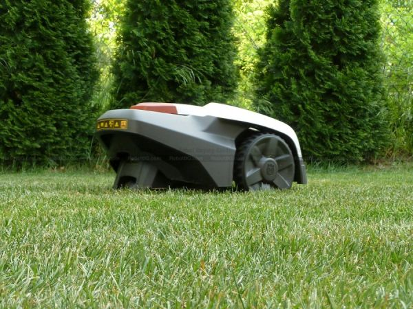 Robotic mower for your backyard lawn