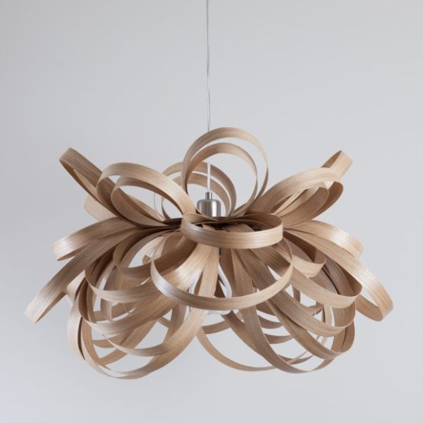 Tom Raffield's Butterfly Lighting collection 1