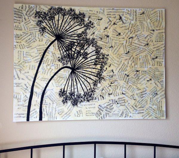 Paper Silhouette Wall Art