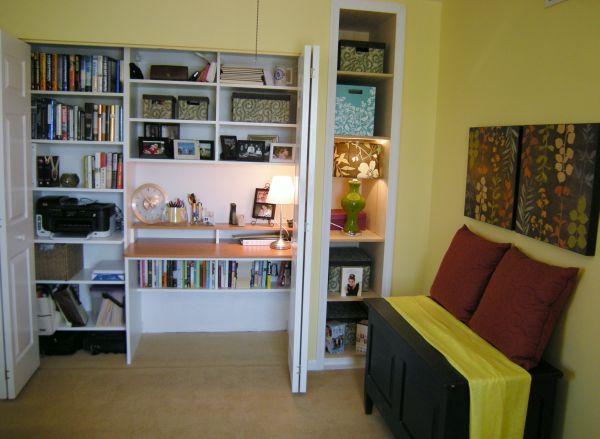 spacious closet office  2