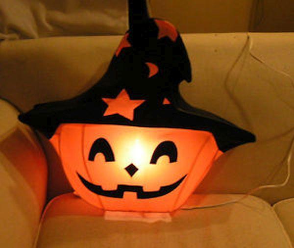 Witch hat luminaries