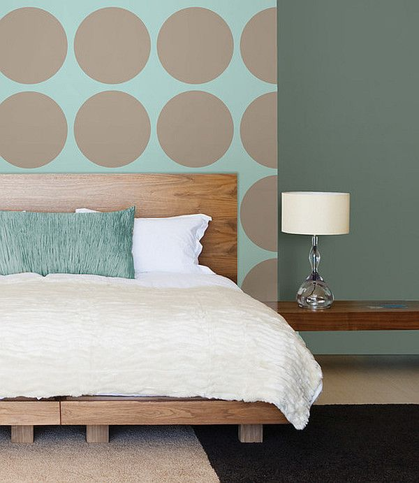 hollow polka dot wall decal
