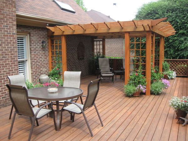 Great Outdoor Deck Ideas  (1)