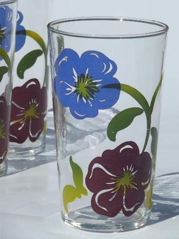 Painting drinking glasses