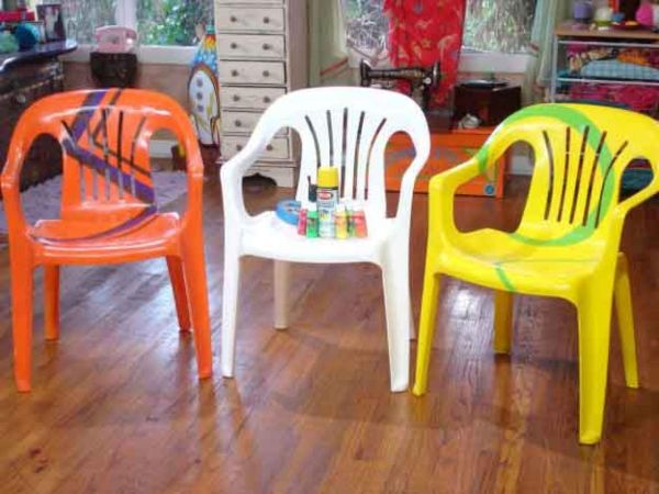Plastic furniture