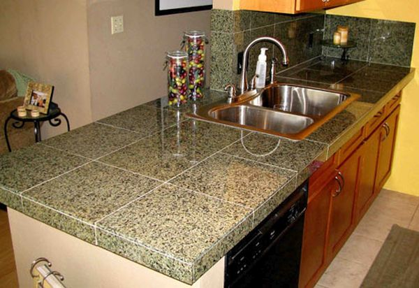 Tile Kitchen Countertops (3)