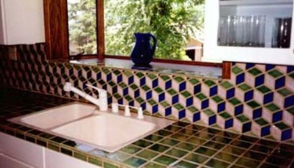 Tile Kitchen Countertops (4)