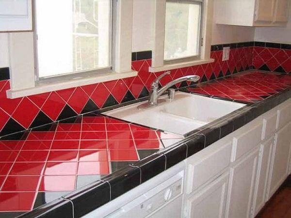 Tile Kitchen Countertops (6)
