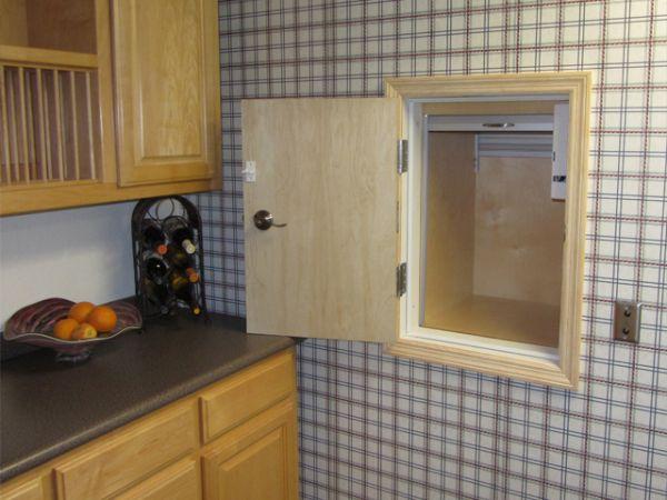 install a dumbwaiter