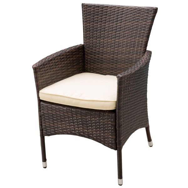 McClure Wicker Dining Chair Set