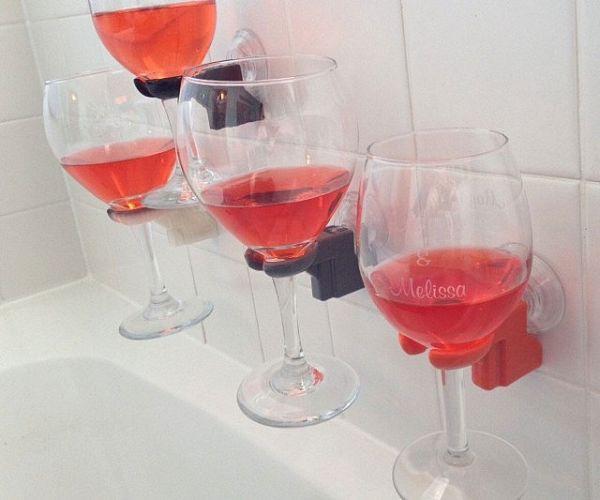 Wine Bathtub Holders