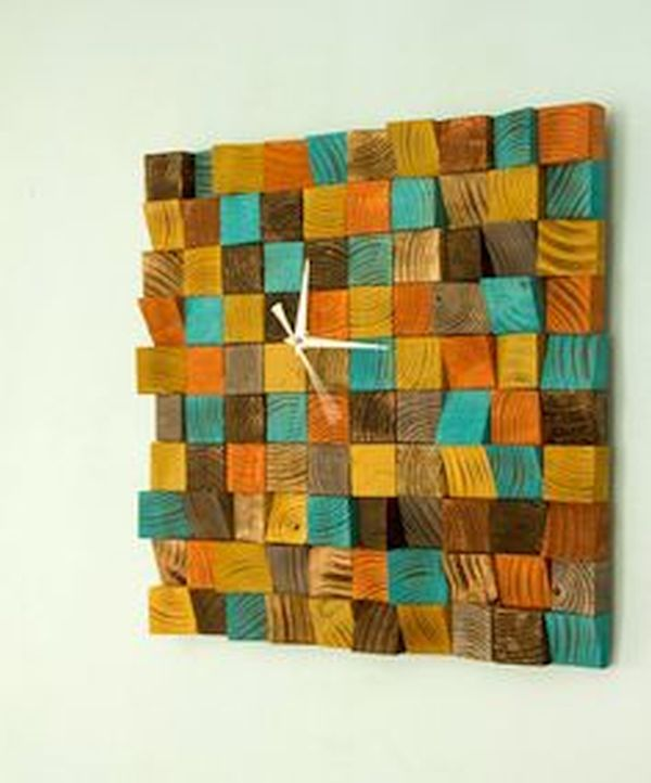 Fire Sparks Wood Wall Art