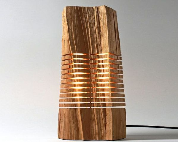 Illuminated Wood Sculpture