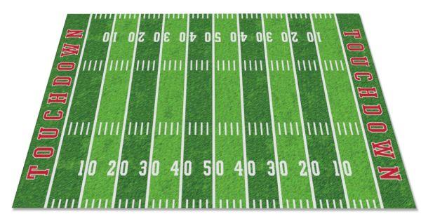 football field rug