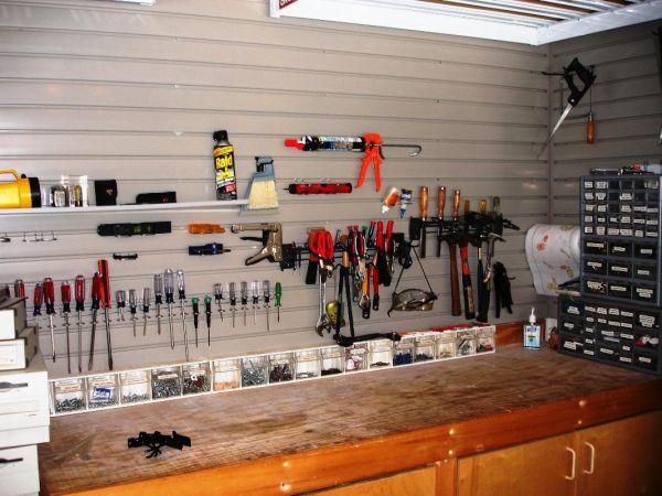 Enhance wall storage  garage