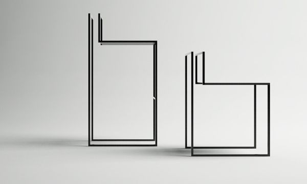 Nissa Kinzhalina's metal Gentle Hint Chairs (1)