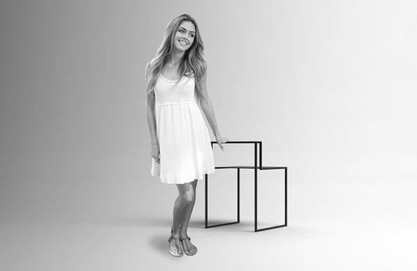 Nissa Kinzhalina's metal Gentle Hint Chairs (3)